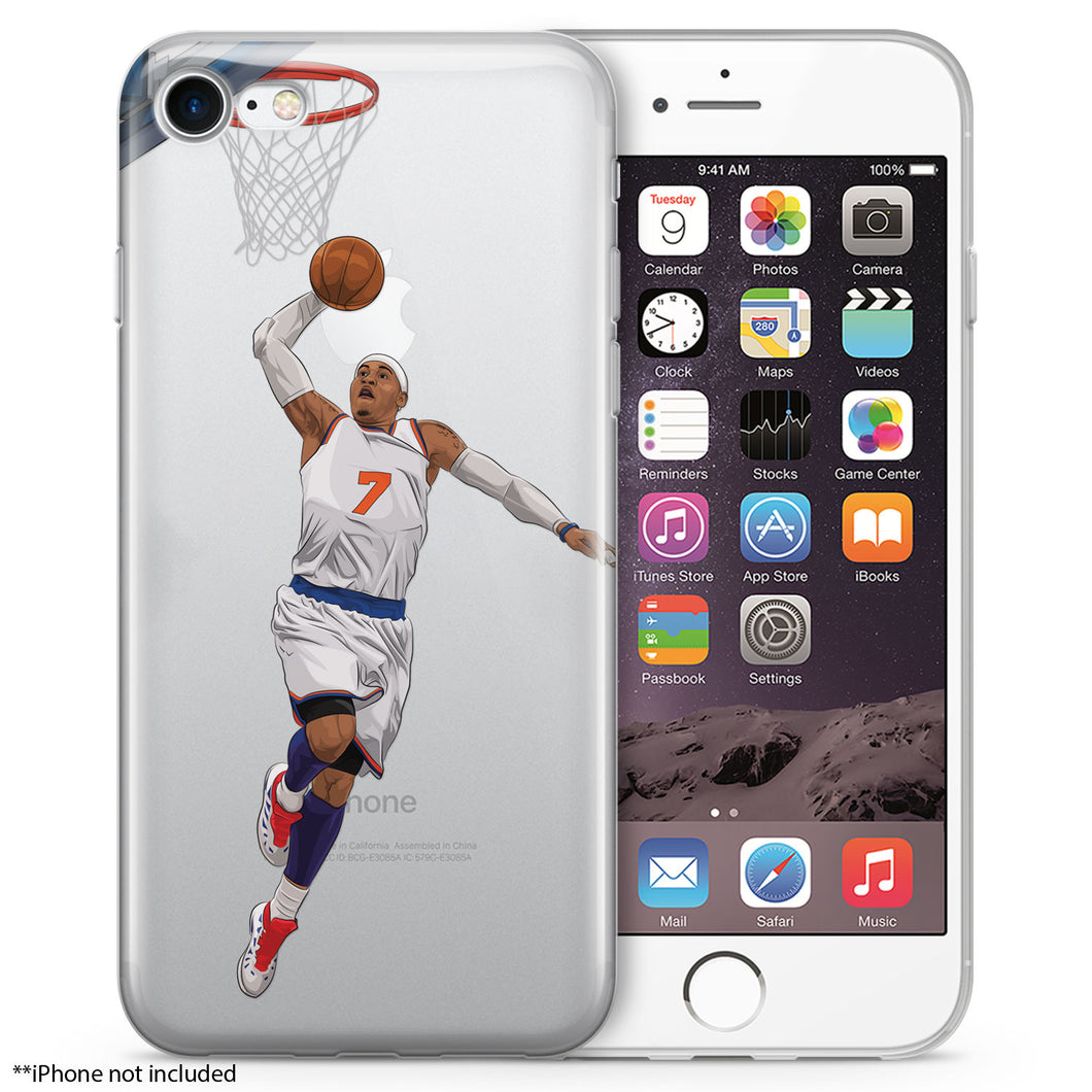 Melo Basketball iPhone Case