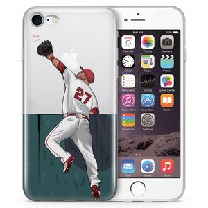 Meteor Baseball iPhone Case