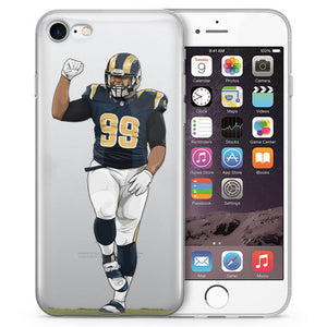 Mob Squad Football iPhone Cases