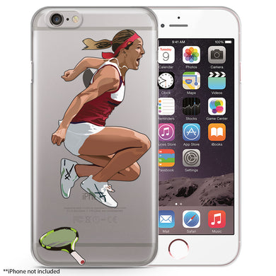 Monica Puig Tennis iPhone case