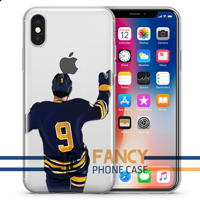 Moon Hockey iPhone Case