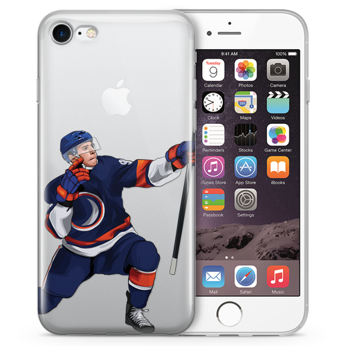 Mr Hockey Hockey iPhone Case