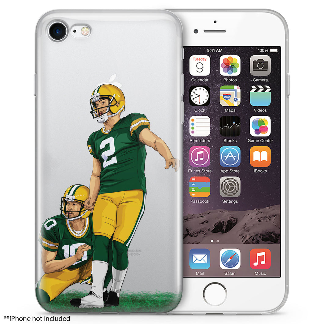 Mr. Magic Leg Football iPhone Case