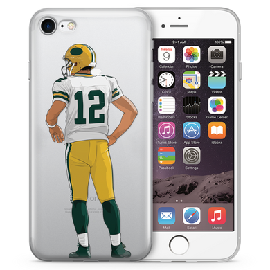 Mr. Rodgers Football iPhone Case