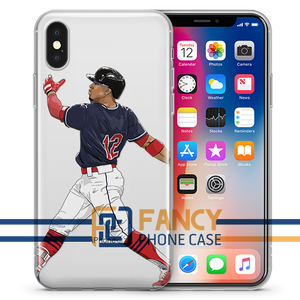 Mr Smile Baseball iPhone Case