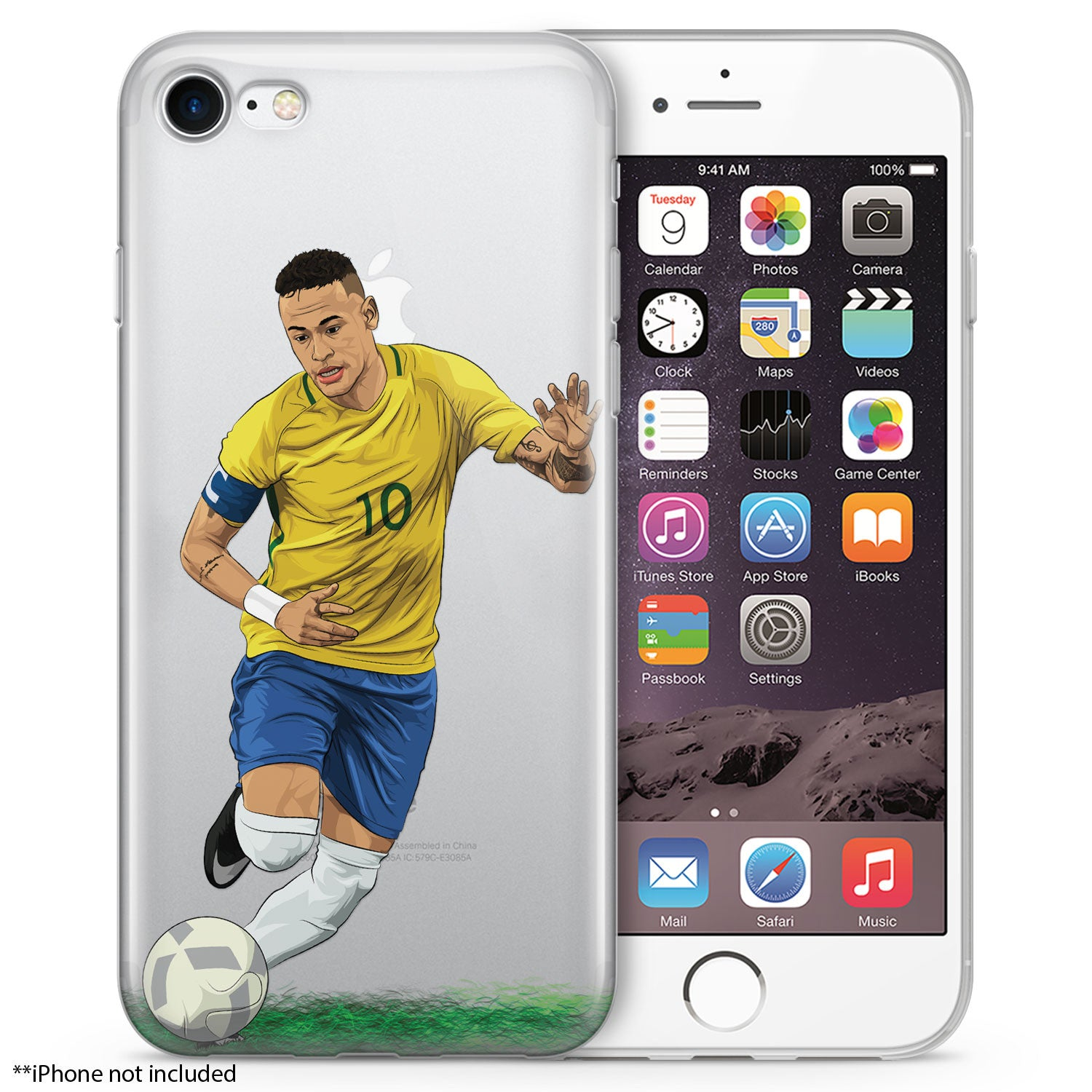 b8b5b27610071 Neymar Soccer iPhone Case