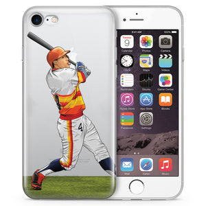 Orange Crush Baseball iPhone Case