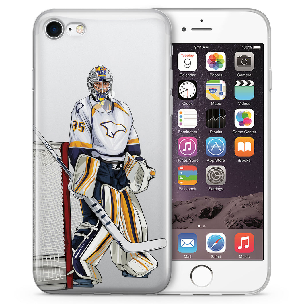 Peks Hockey iPhone Case