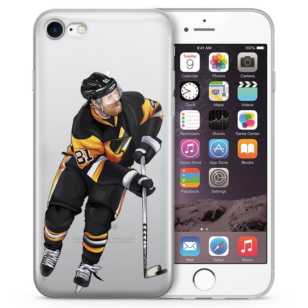 Philly Cheese Hockey iPhone Case