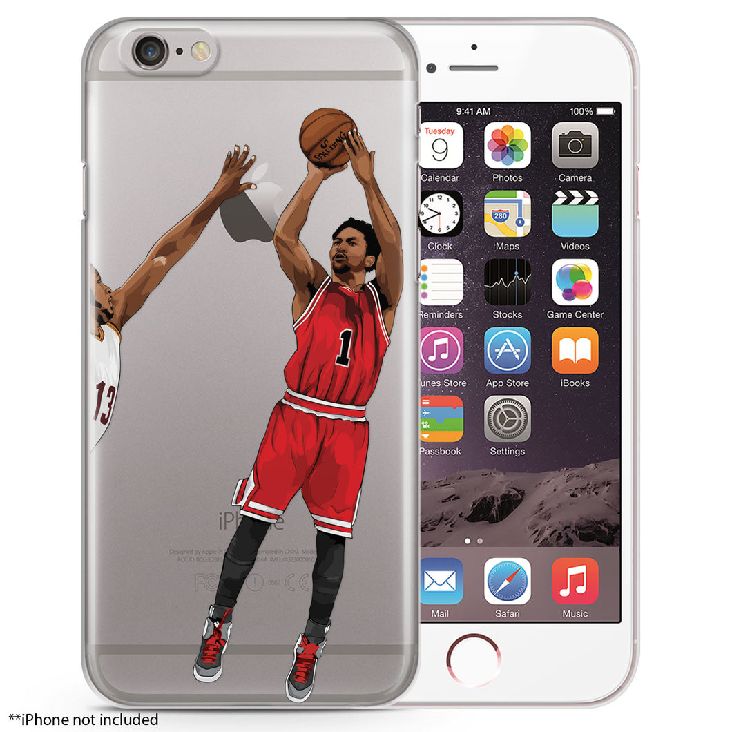 Pooh CHI Basketball iPhone Case