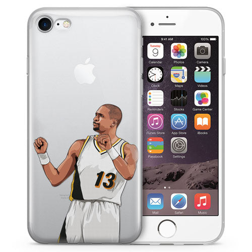 Preacher Basketball iPhone Case