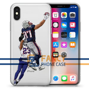 RI-GRONK-ULOUS Football iPhone Case