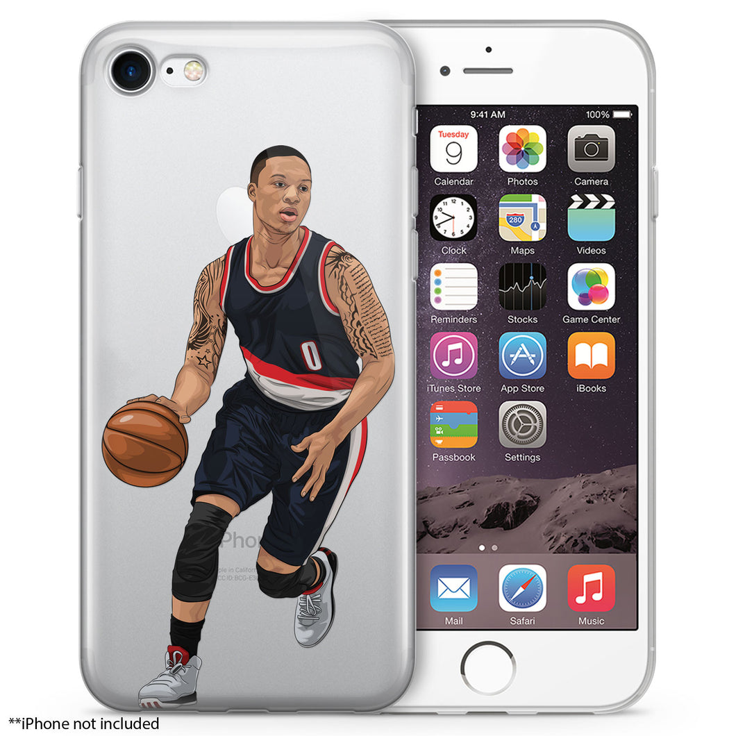 Rip City Basketball iPhone Case