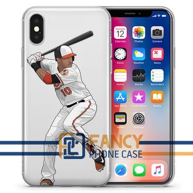 Simply AJ Baseball iPhone Case