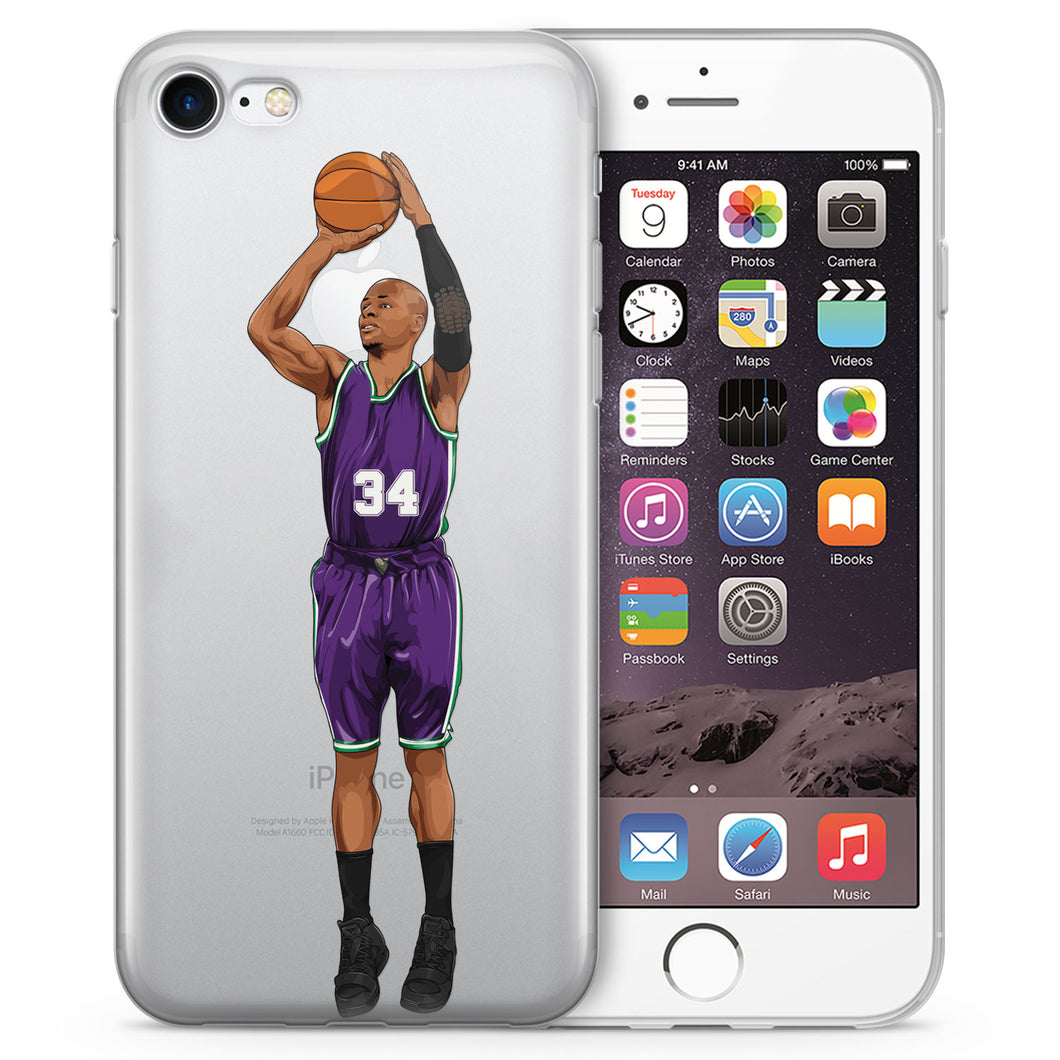 Sugar Ray MIL Basketball iPhone Case