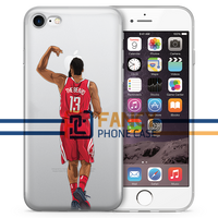 THE BEARD Back Basketball iPhone Case