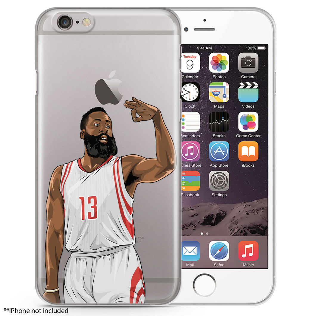 The Beard Basketball iPhone Case