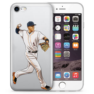 The Captain Baseball iPhone Case