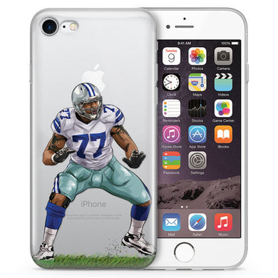 Tyronosaurus Football iPhone Case