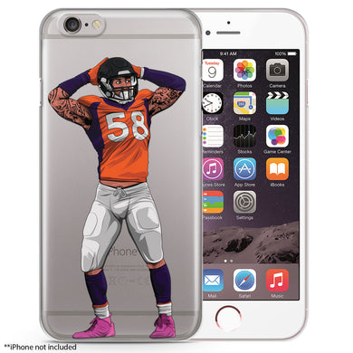 Von-ster Football iPhone Case