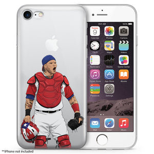 Yadi Baseball iPhone Case