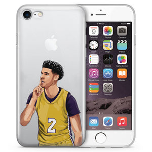 Zo LAL Basketball iPhone Case