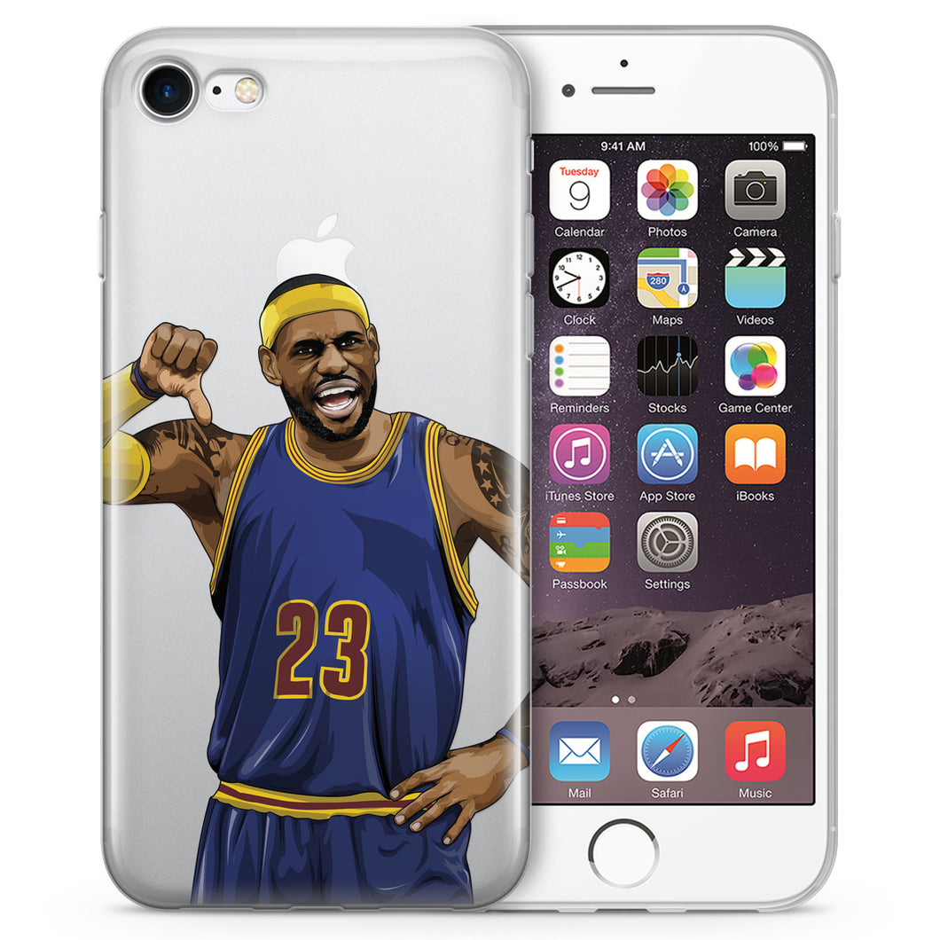 Akron Hammer Basketball iPhone Case