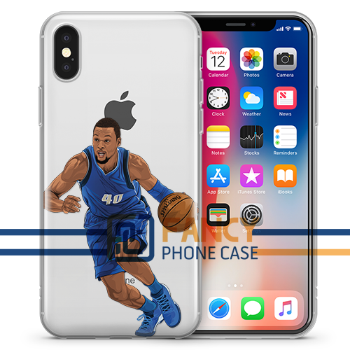 Black Falcon Basketball iPhone Case