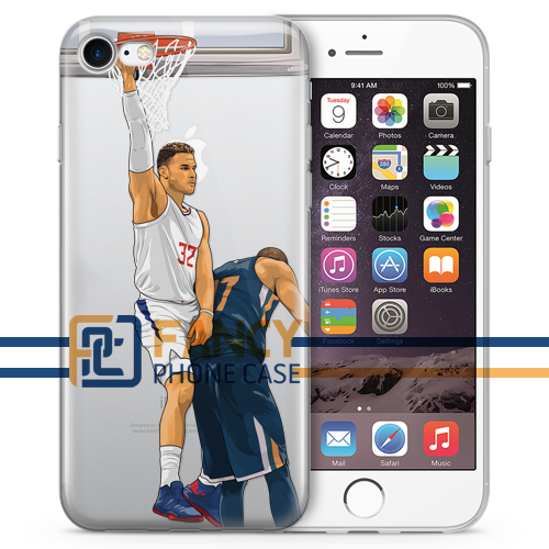 Blake Dunk Basketball iPhone Case