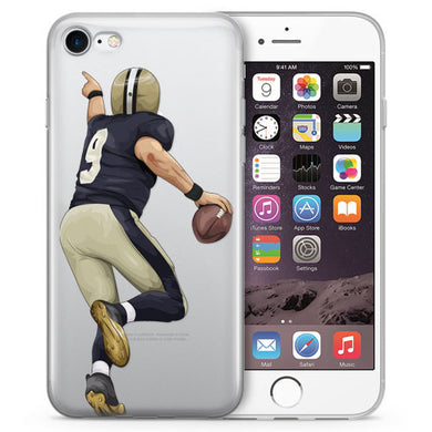 Breesus Football iPhone Cases