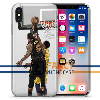 Clutch Block Basketball iPhone Case