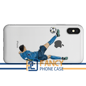CR7 Kick Soccer iPhone Case