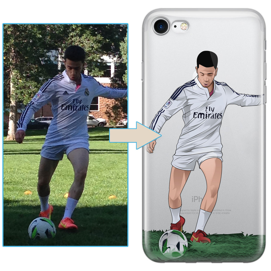Custom Soccer iPhone Case