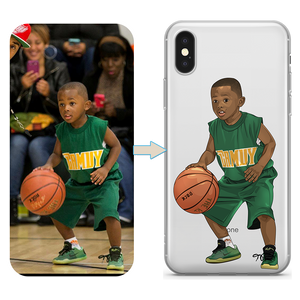 Custom Basketball iPhone Case
