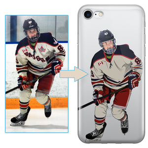 Custom Hockey iPhone Case