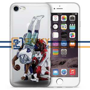 Dak Flip Football iPhone Case