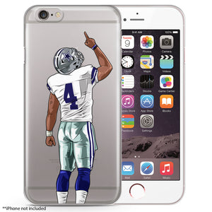 Dak Football iPhone Case