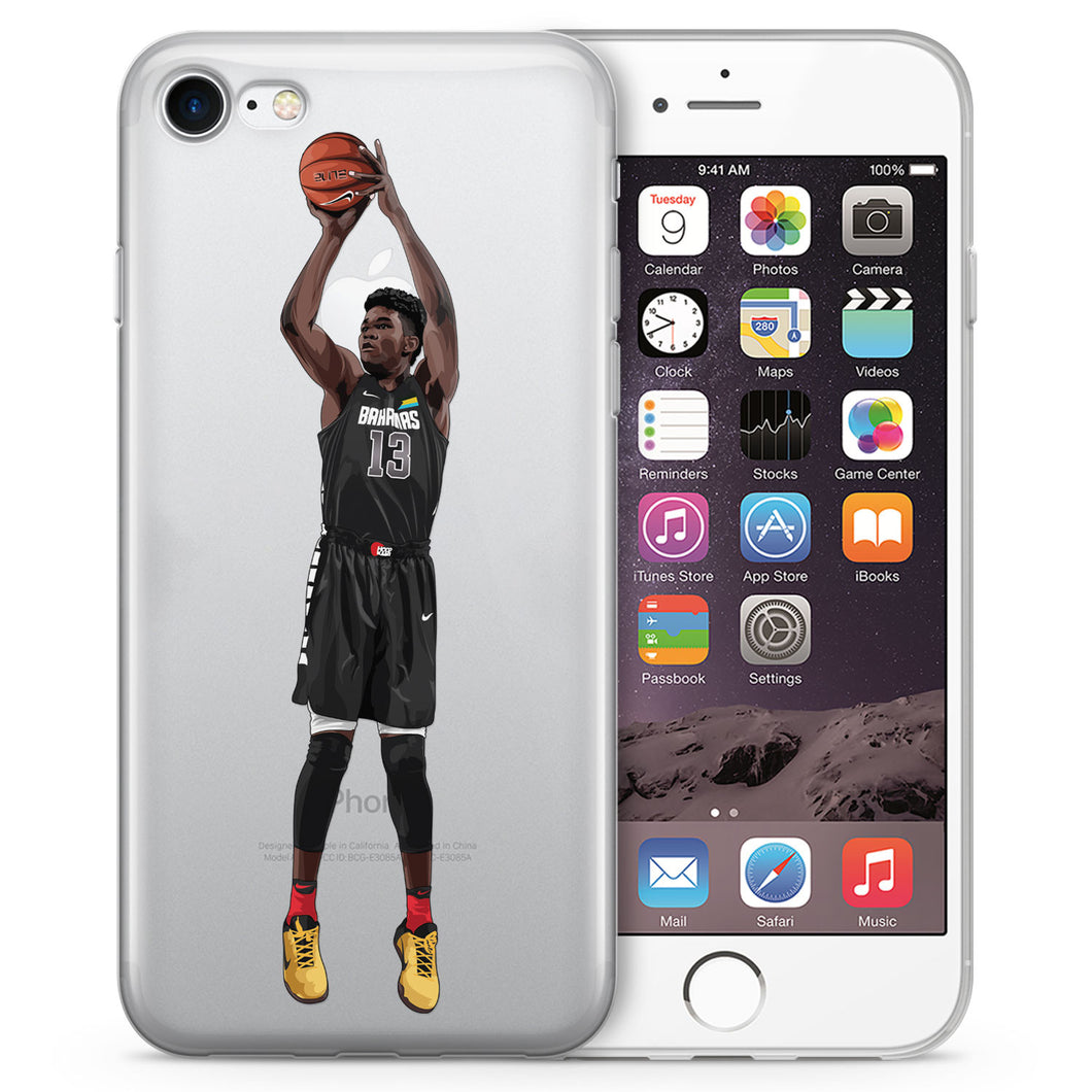De Basketball iPhone Case