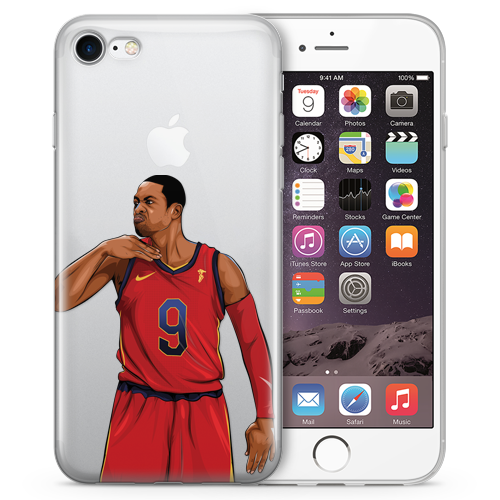 Flash CAVS Basketball iPhone Cases