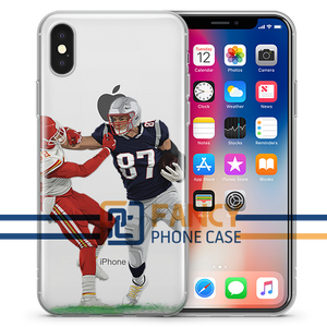 Get off me Football iPhone Case