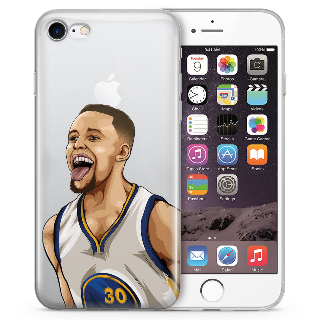 Golden Boy Basketball iPhone Case