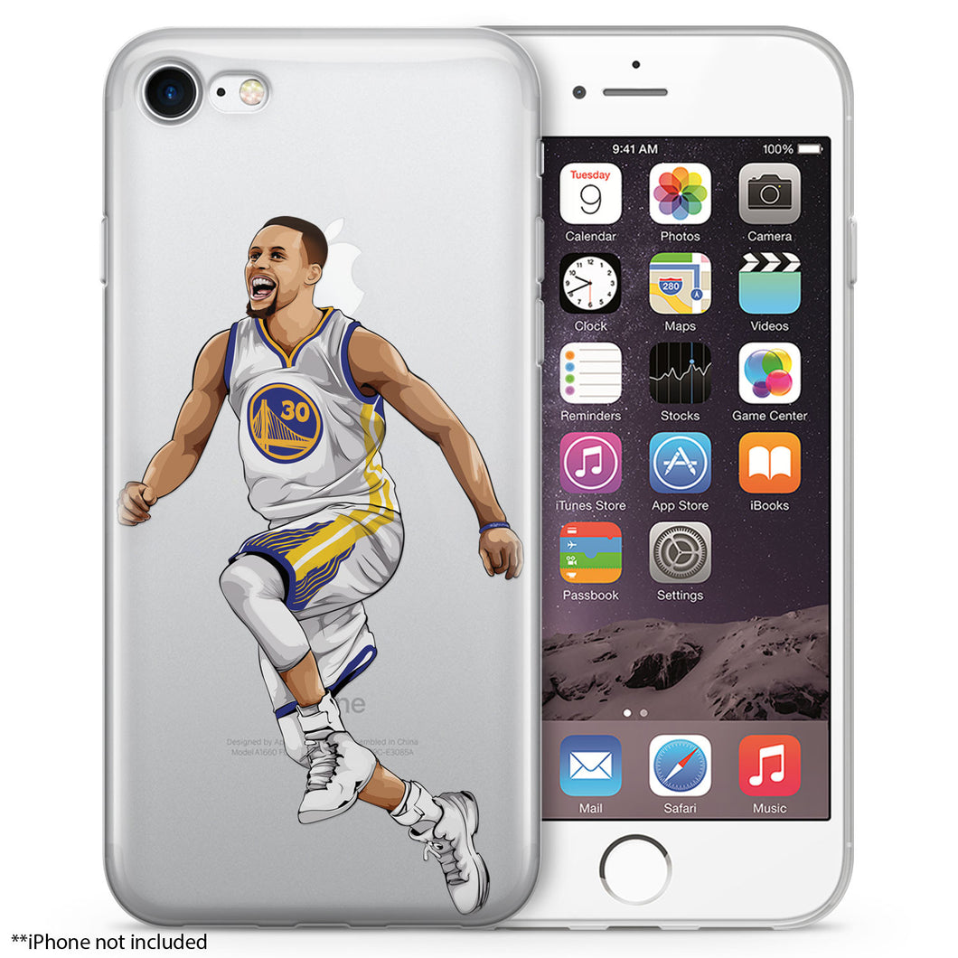 Happy Steph Basketball iPhone Case