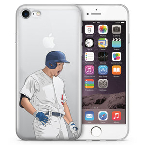 Iron Man Baseball iPhone Case