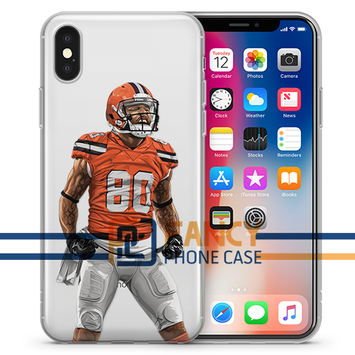 Juice CLE Football iPhone Case