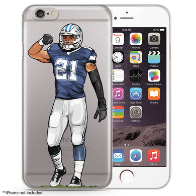 Zeke Keeps Eating Football iPhone Case