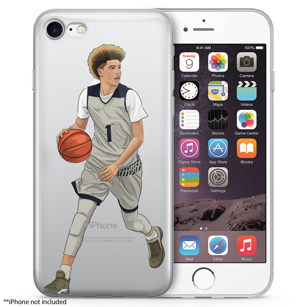 Lamelo Basketball iPhone Case