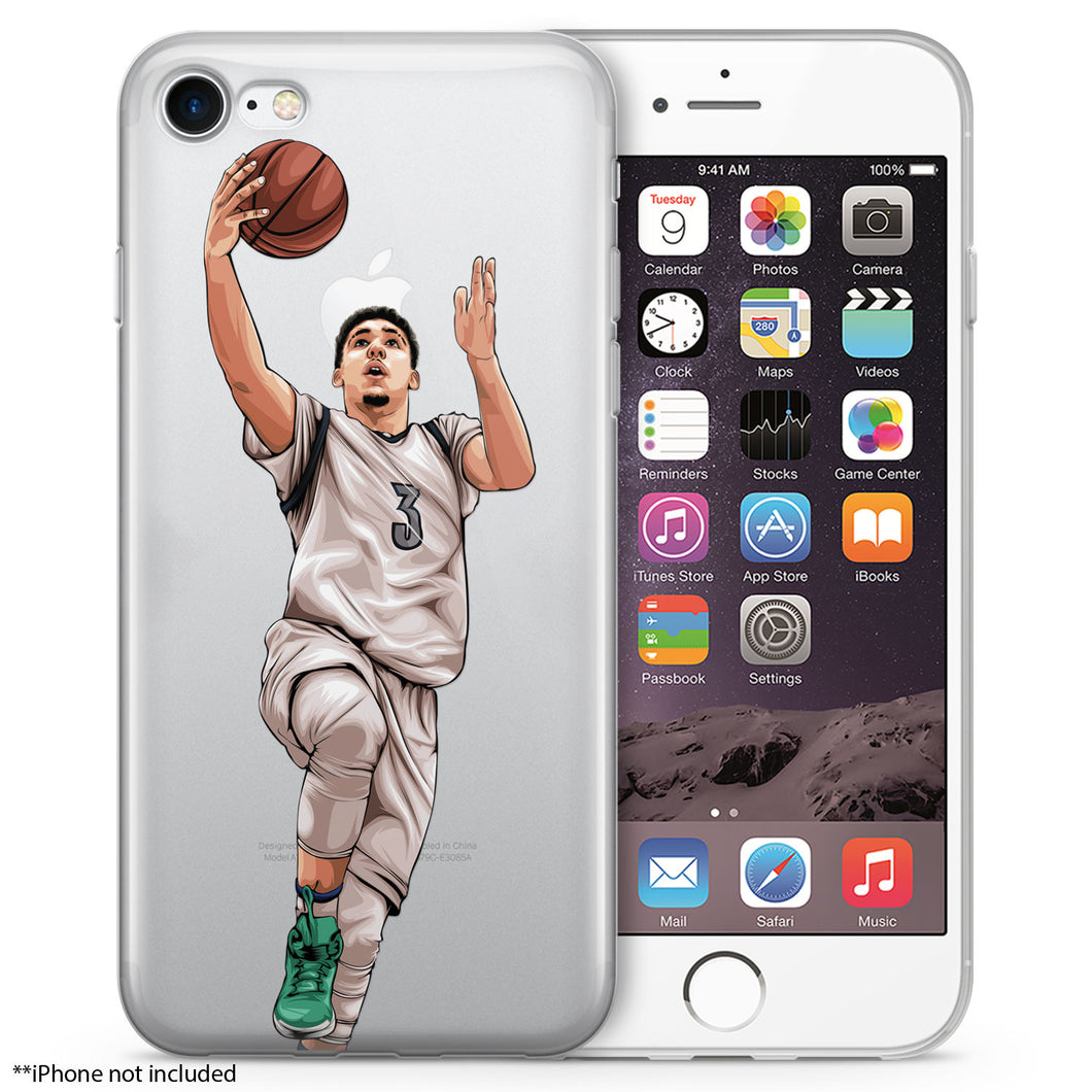 Gelo Basketball iPhone Case