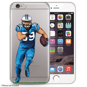 Luke Football iPhone Case
