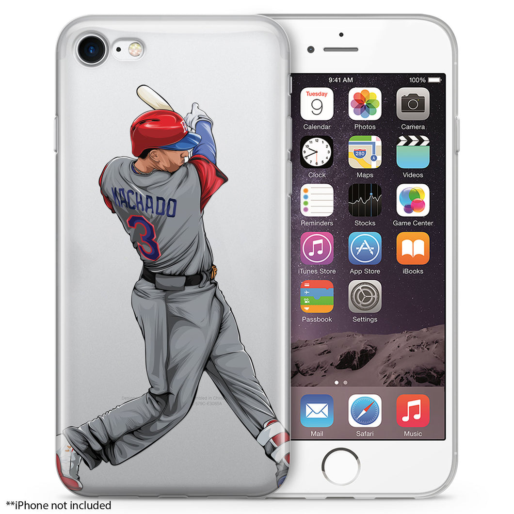 Manny Baseball iPhone Case