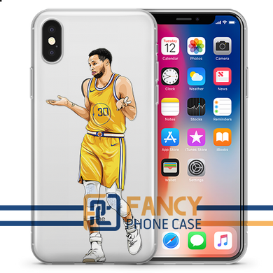 Not my fault Basketball iPhone Case